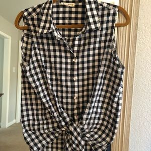 Tops - Gingham shirt